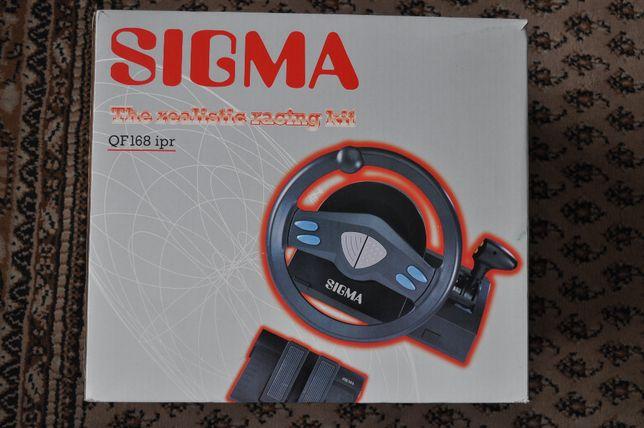 Kierownica + pedały SIGMA QP168