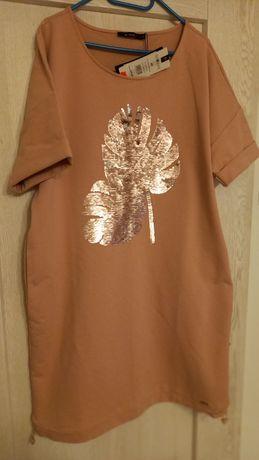 Nowa sukienka dresowa monnari