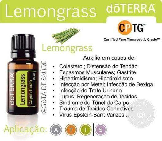 Óleo essencial Lemongrass