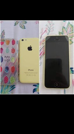 Iphone 5C pronto a usar