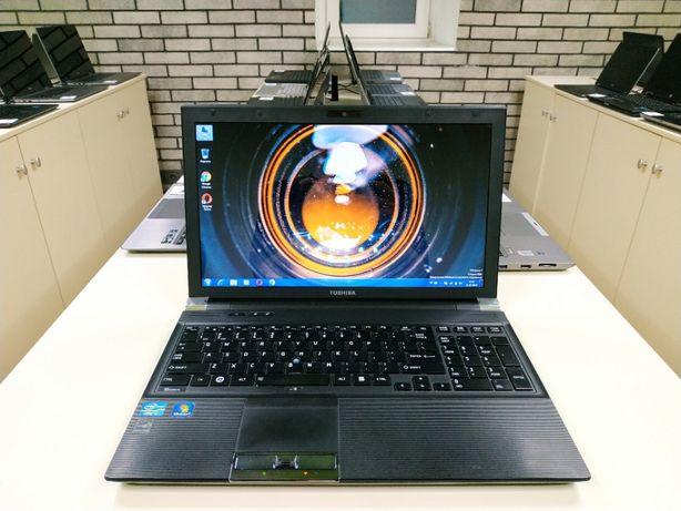 Ноутбук для работы, Toshiba R850, i5, 15.6, 256 gb, intel 3000 1Gb