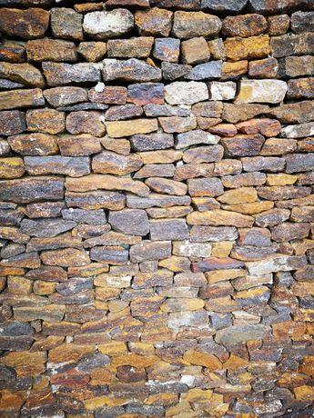Kamień ogrodowy płaski piaskowiec rudy