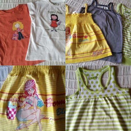 Impecáveis 5 Tops/T-shirts 6-7Anos