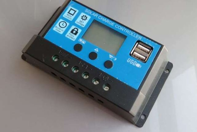 Контроллер заряда солнечных батарей KW1220,20А(Solar Charge Controller