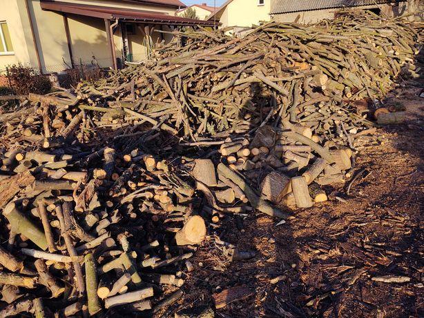 Drewno opałowe liściaste mieszane