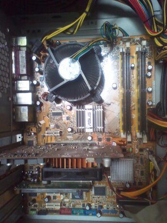 ASUS P5B-E + Intel® Xeon® Е5430 (3.0GHz/12MB/1333 MHz) + 2Gb