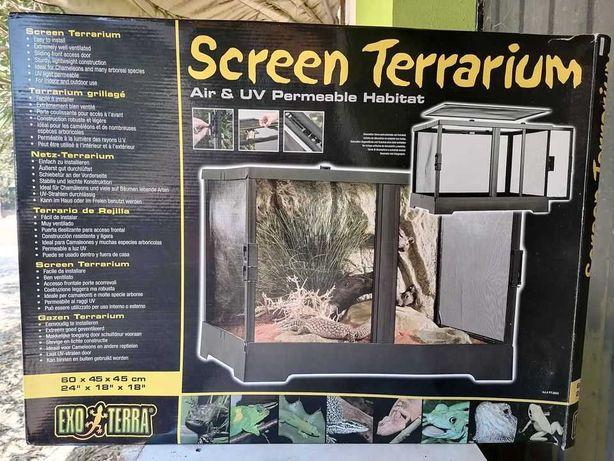 Terrario 60x45x45 c/ Kit Geko