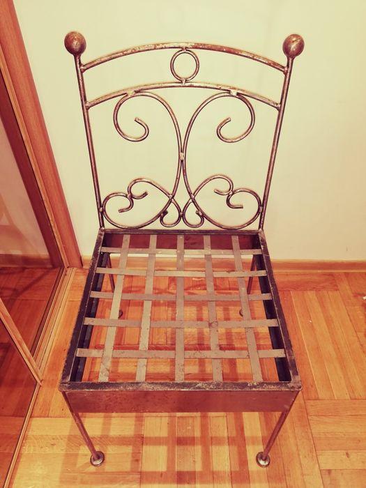 Krzesła, kute, metalowe. Wojcieszyce - image 1