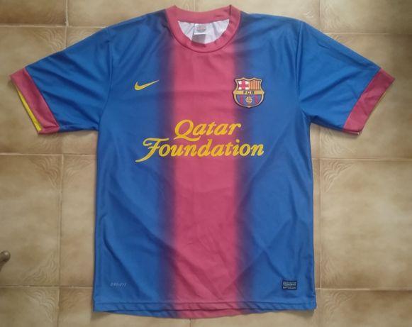 Camisola de Futebol do Barcelona do jogador Messi