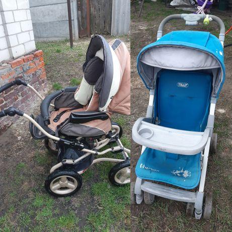 Детская коляска, цена за две