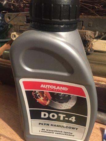 Płyn hamulcowy DOT- 4