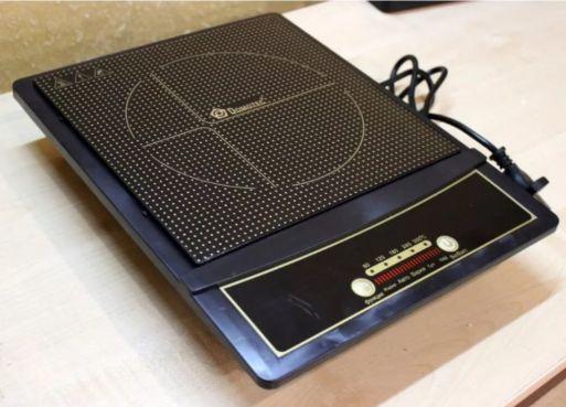 Индукционная электроплита Domotec настольная MS-5832 2000W Black