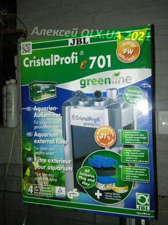 Внешний фильтр JBL CristalProfi e701 для аквариума 90-200 л НОВЫЙ!!