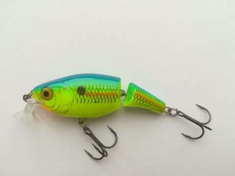 Wobler Rapala Jointed Shallow Shad Rap 7 cm