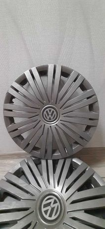 Б/У Колпаки R15 4шт на VW в хорошому стані !