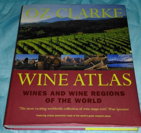 Wine Atlas de Oz Clarke - como novo