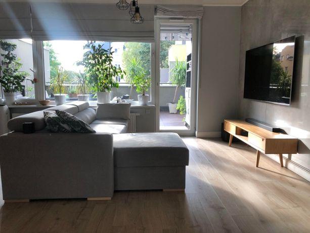 Apartament w stylu skandynawskim 70 m2 z pięknymi tarasami