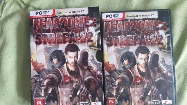 Gra PC Fearzone strefa 22 wersja językowa PL komputer używana