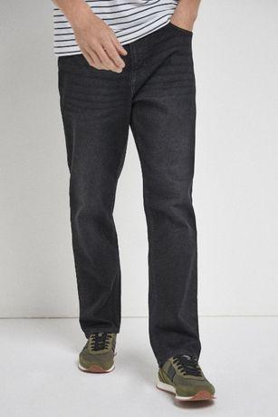 Чорні чоловічі джинси NEXT вільного крою