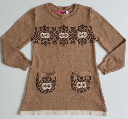 Платье тёплое для девочки Одежда Одесса