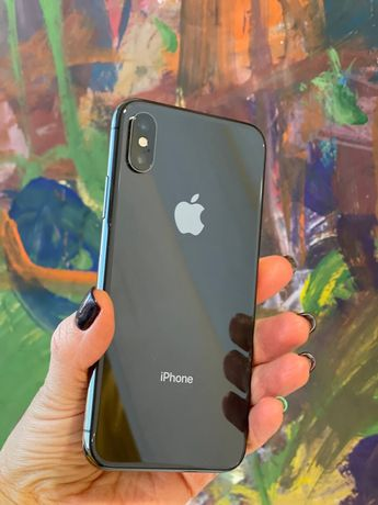 iPhone X 256 Space Gray,СВОЙ без ремонтов и царапин!