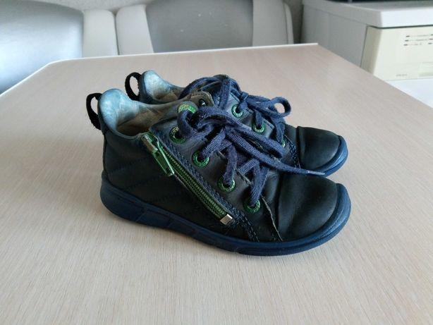 Кроссовки полубитинки мокасины туфли ecco екко размер 26