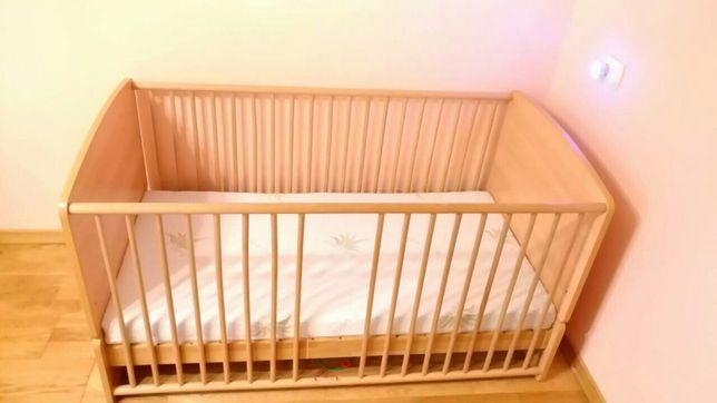 Дитяче Ліжечко 140x80 см + матрас