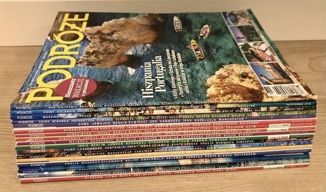 17 numerow czasopisma PODRÓŻE
