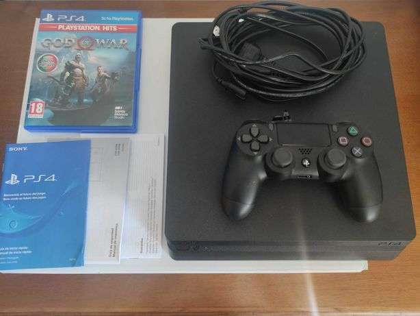 Playstation 4  e JOGO GOD OF WAR