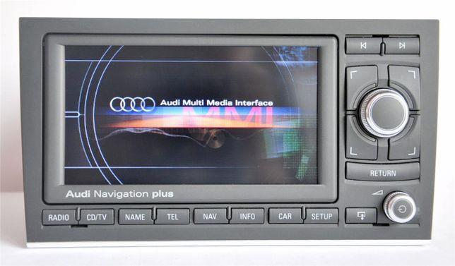 Wyświeltacz lcd ekran nawigacja Audi a3 a4 a6 Rnse