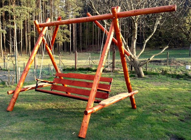 Huśtawka ogrodowa - metalowy stelarz siedziska!!!