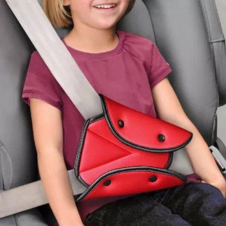Фиксатор ремня безопасности, бустер, автомобильное кресло