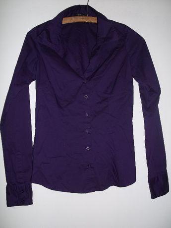 AMISU koszula damska NOWA piękny fiolet oberżyna rozmiar XS/S TANIO!