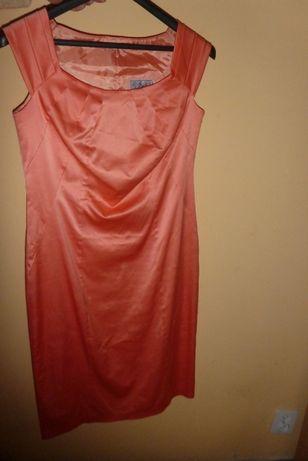 sukienka wizytowa koktajlowa 42