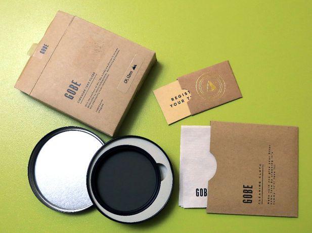 Gobe CPL 62mm JapanOptic filtr polaryzacyjny