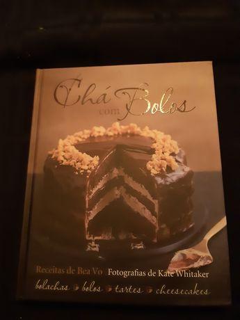 Livro de bolos e chá