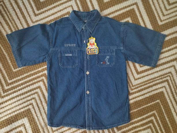 Нова джинсова рубашка