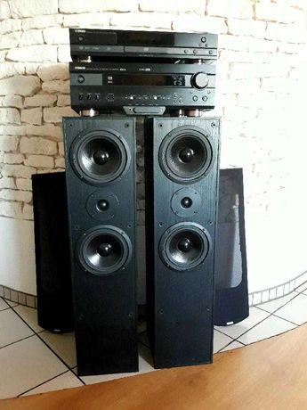 Yamaha Amplituner+DVD+Głośniki