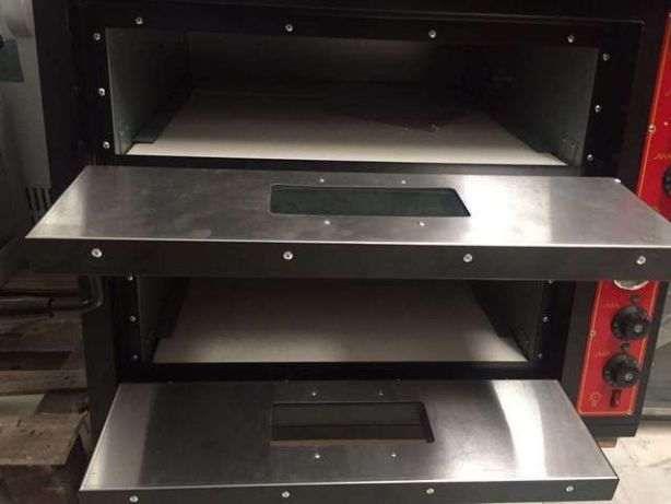 Forno Industrial de Pizzas 4+4x30cm NOVO