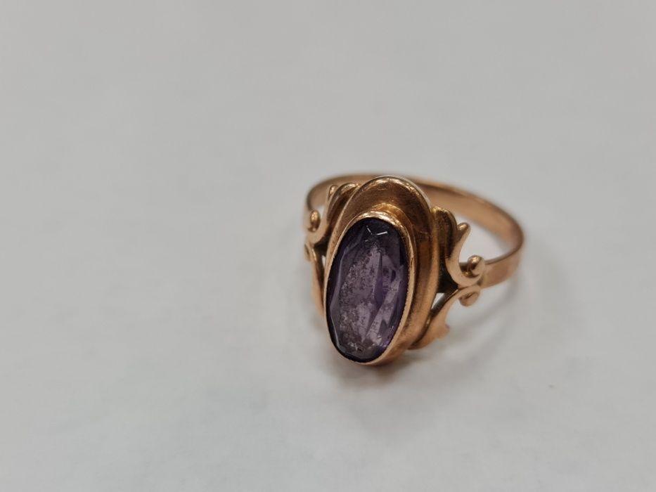 Retro! Piękny złoty pierścionek/ Radzieckie 583/ 5.6 gram/ R21 Gdynia - image 1
