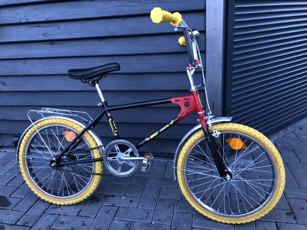 "Rower BMX POWER UDO Lerman VINTAGE 20"" oryginal z Niemiec"