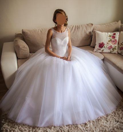 Suknia ślubna rozm. 34-36
