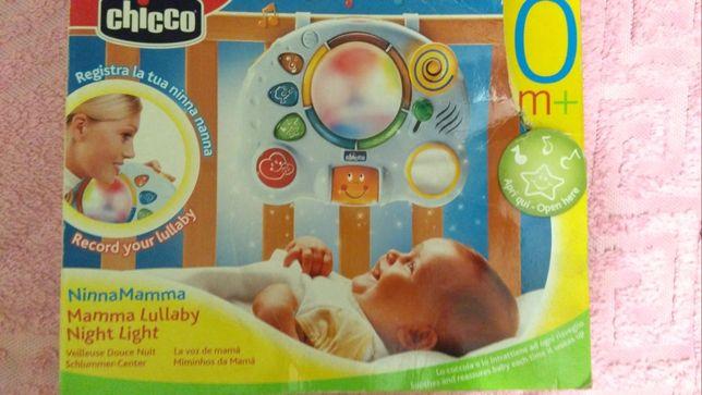 Chicco суперовая игрушка + ночник