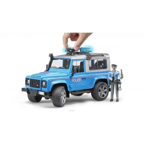 Полицейская машина Land Rover Defender Bruder