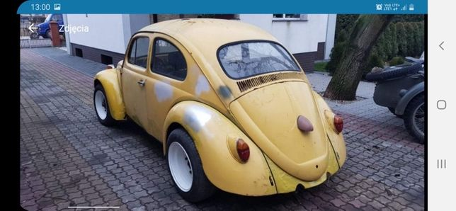 VW garbus dziadek