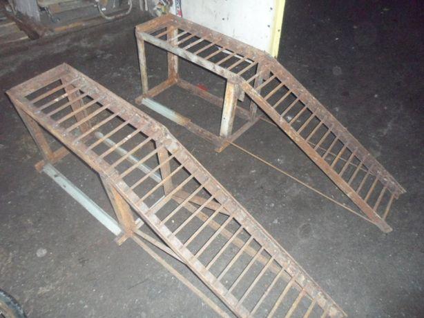 Стойки подкаты трапы аппарели для ремонта любого авто