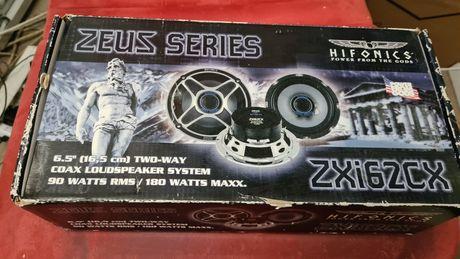 Głośniki Samochodowe Hifonics Zeus ZXi62CX (2×90W RMS) nowe