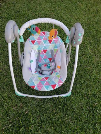 Baloiço e cadeira de descanso bebe
