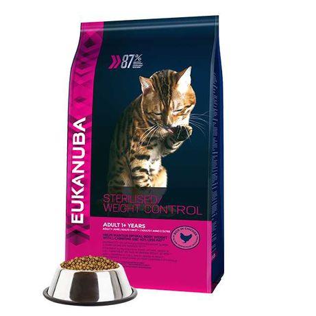 Eukanuba Cat Adult Sterilised Weight Control, gato esterilizado
