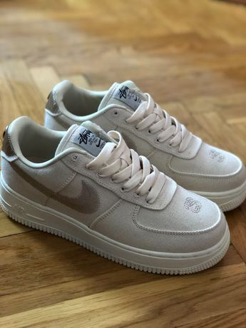 Buty Nike Air Force 1 low Fossil x Stussy roz.37;38;39;40